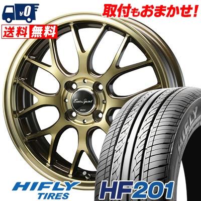 165/65R14 HIFLY ハイフライ HF201 エイチエフ ニイマルイチ Eouro Sport Type 805 ユーロスポーツ タイプ805 サマータイヤホイール4本セット