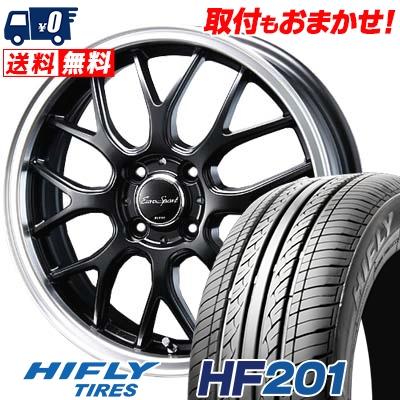 165/60R14 75H HIFLY ハイフライ HF201 HF201 Eoro Sport Type 805 ユーロスポーツ タイプ805 サマータイヤホイール4本セット