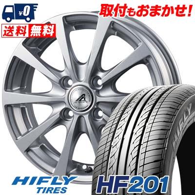 145/65R15 72T HIFLY ハイフライ HF201 エイチエフ ニイマルイチ AZ SPORTS EX10 AZスポーツ EX10 サマータイヤホイール4本セット