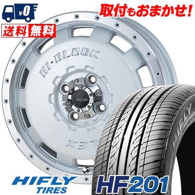 165/60R15 77H HIFLY ハイフライ HF201 HF201 HI-BLOCK BALEX ハイブロック バレックス サマータイヤホイール4本セット【取付対象】
