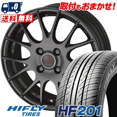 185/60R15 84H HIFLY ハイフライ HF201 HF201 ENKEI CREATIVE DIRECTION CDM1 エンケイ クリエイティブ ディレクション CD-M1 サマータイヤホイール4本セット