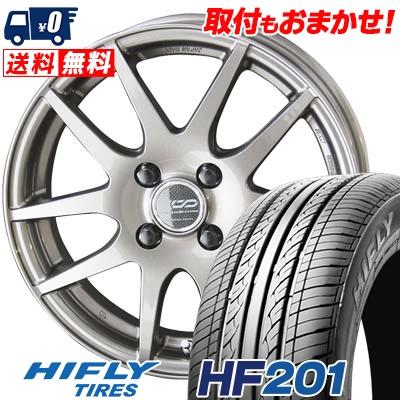 195/55R15 HIFLY ハイフライ HF201 HF201 ENKEI CREATIVE DIRECTION CDR2 エンケイ クリエイティブ ディレクション CD-R2 サマータイヤホイール4本セット