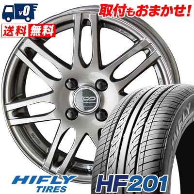 185/60R15 84H HIFLY ハイフライ HF201 HF201 ENKEI CREATIVE DIRECTION CDS2 エンケイ クリエイティブ ディレクション CD-S2 サマータイヤホイール4本セット