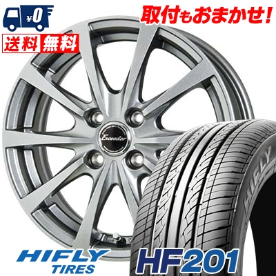 175/65R15 84H HIFLY ハイフライ HF201 HF201 Exceeder E03 エクシーダー E03 サマータイヤホイール4本セット