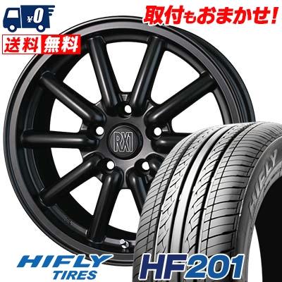 205/60R16 92V HIFLY ハイフライ HF201 エイチエフ ニイマルイチ Fenice RX1 フェニーチェ RX1 サマータイヤホイール4本セット