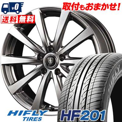 【エントリーでポイント5倍】 215/65R15 HIFLY ハイフライ HF201 HF201 Euro Speed G10 ユーロスピード G10 サマータイヤホイール4本セット