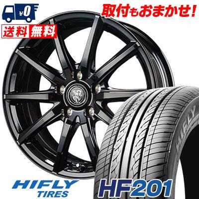 205/70R15 96H HIFLY ハイフライ HF201 エイチエフ ニイマルイチ TRG-GB10 TRG GB10 サマータイヤホイール4本セット
