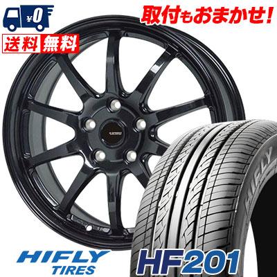 195/60R16 89H HIFLY ハイフライ HF201 エイチエフ ニイマルイチ G.speed G-04 Gスピード G-04 サマータイヤホイール4本セット【取付対象】