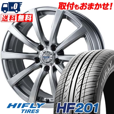 205/60R15 91V HIFLY ハイフライ HF201 HF201 ZACK JP-110 ザック JP110 サマータイヤホイール4本セット