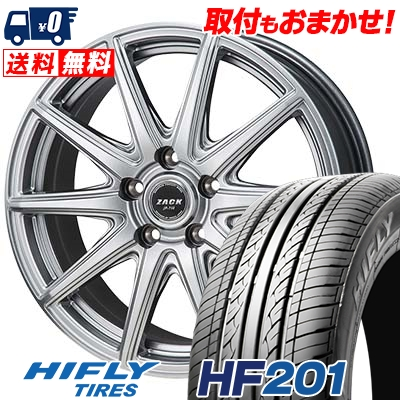 205/60R16 92V HIFLY ハイフライ HF201 エイチエフ ニイマルイチ ZACK JP-710 ザック ジェイピー710 サマータイヤホイール4本セット