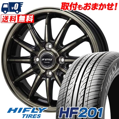 165/60R14 75H HIFLY ハイフライ HF201 HF201 JP STYLE Vercely JPスタイル バークレー サマータイヤホイール4本セット