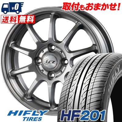 185/65R15 88H HIFLY ハイフライ HF201 HF201 LCZ010 LCZ010 サマータイヤホイール4本セット