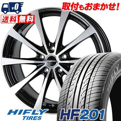 215/60R16 95V HIFLY ハイフライ HF201 HF201 Laffite LE-03 ラフィット LE-03 サマータイヤホイール4本セット【取付対象】