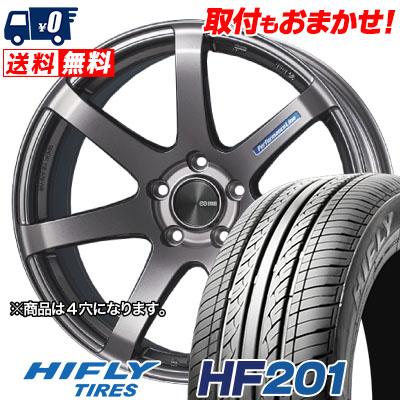 145/65R15 72T HIFLY ハイフライ HF201 HF201 ENKEI PerformanceLine PF-07 エンケイ パフォーマンスライン PF07 サマータイヤホイール4本セット