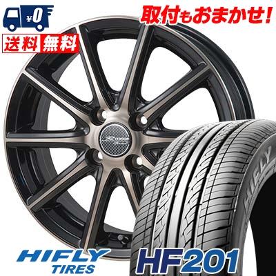 175/55R15 77T HIFLY ハイフライ HF201 エイチエフ ニイマルイチ MONZA R VERSION Sprint モンツァ Rヴァージョン スプリント サマータイヤホイール4本セット