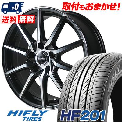 215/65R16 98H HIFLY ハイフライ HF201 エイチエフ ニイマルイチ EuroSpeed S810 ユーロスピード S810 サマータイヤホイール4本セット