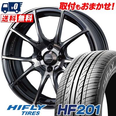 175/55R15 77T HIFLY ハイフライ HF201 HF201 wedsSport SA-10R ウエッズスポーツ SA10R サマータイヤホイール4本セット