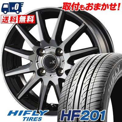 145/65R15 72T HIFLY ハイフライ HF201 HF201 spec K スペックK サマータイヤホイール4本セット