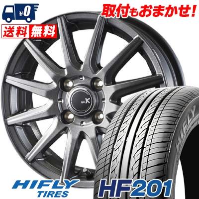 155/70R13 75T HIFLY ハイフライ HF201 HF201 spec K スペックK サマータイヤホイール4本セット