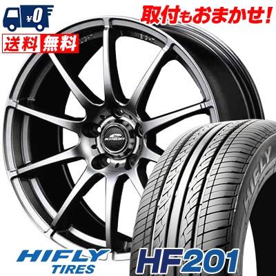 205/55R16 HIFLY ハイフライ HF201 HF201 SCHNEDER StaG シュナイダー スタッグ サマータイヤホイール4本セット