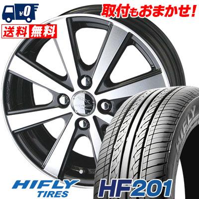 175/55R15 77T HIFLY ハイフライ HF201 HF201 SMACK VIR スマック VI-R サマータイヤホイール4本セット