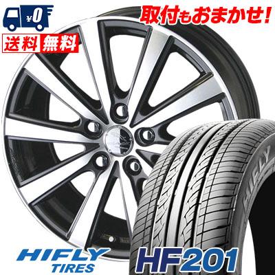 205/55R16 91V HIFLY ハイフライ HF201 HF201 SMACK VIR スマック VI-R サマータイヤホイール4本セット