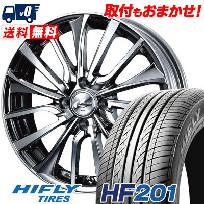 165/55R14 72H HIFLY ハイフライ HF201 HF201 weds LEONIS VT ウエッズ レオニス VT サマータイヤホイール4本セット