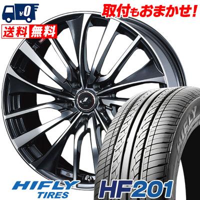 215/65R16 98H HIFLY ハイフライ HF201 HF201 weds LEONIS VT ウエッズ レオニス VT サマータイヤホイール4本セット