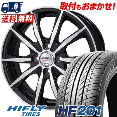 165/60R15 HIFLY ハイフライ HF201 HF201 JP STYLE WOLX JPスタイル ヴォルクス サマータイヤホイール4本セット