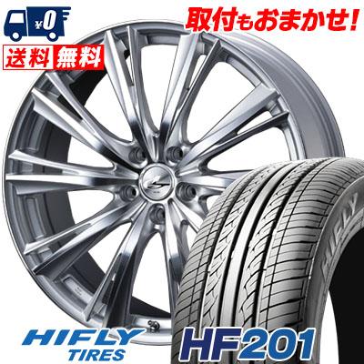 205/65R16 95H HIFLY ハイフライ HF201 HF201 weds LEONIS WX ウエッズ レオニス WX サマータイヤホイール4本セット