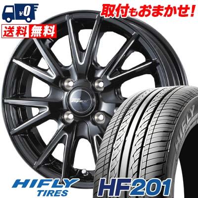 165/70R14 HIFLY ハイフライ HF201 HF201 weds RIZLEY ZEFICE X ウェッズ ライツレー ゼファイス エックス サマータイヤホイール4本セット