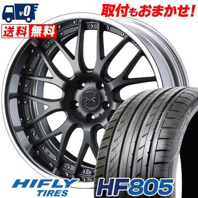 245/45R19 102W XL HIFLY ハイフライ HF805 HF805 weds MAVERICK 709M ウエッズ マーべリック 709M サマータイヤホイール4本セット