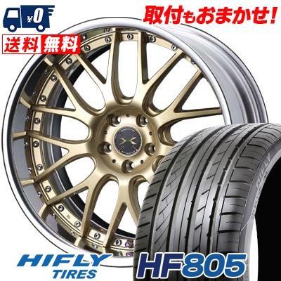 245/40R19 98W XL HIFLY ハイフライ HF805 エイチエフ ハチマルゴ weds MAVERICK 709M ウエッズ マーべリック 709M サマータイヤホイール4本セット