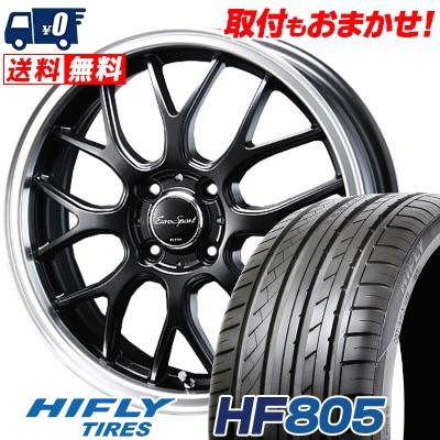 205/45R17 88W XL HIFLY ハイフライ HF805 HF805 Eoro Sport Type 805 ユーロスポーツ タイプ805 サマータイヤホイール4本セット