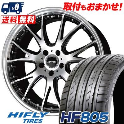 245/45R19 102W XL HIFLY ハイフライ HF805 エイチエフ ハチマルゴ Precious AST M2 プレシャス アスト M2 サマータイヤホイール4本セット