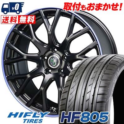 215/45R17 91W XL HIFLY ハイフライ HF805 エイチエフ ハチマルゴ Bahnsport Type902 バーンシュポルト タイプ902 サマータイヤホイール4本セット