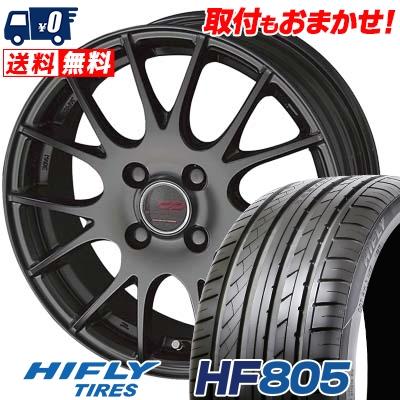 195/45R15 82V XL HIFLY ハイフライ HF805 HF805 ENKEI CREATIVE DIRECTION CDM1 エンケイ クリエイティブ ディレクション CD-M1 サマータイヤホイール4本セット