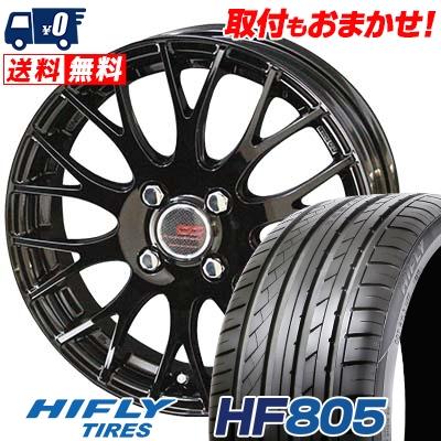 195/50R15 86V XL HIFLY ハイフライ HF805 エイチエフ ハチマルゴ ENKEI CREATIVE DIRECTION CDM2 エンケイ クリエイティブ ディレクション CD-M2 サマータイヤホイール4本セット