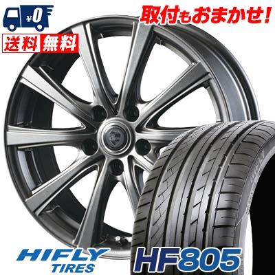 245/45R18 100W XL HIFLY ハイフライ HF805 エイチエフ ハチマルゴ CLAIRE DG10 クレール DG10 サマータイヤホイール4本セット
