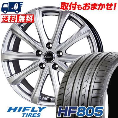 225/40R18 92W XL HIFLY ハイフライ HF805 エイチエフ ハチマルゴ Exceeder E04 エクシーダー E04 サマータイヤホイール4本セット