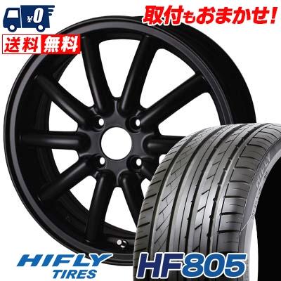 165/50R15 72V HIFLY ハイフライ HF805 エイチエフ ハチマルゴ Fenice RX1 フェニーチェ RX1 サマータイヤホイール4本セット