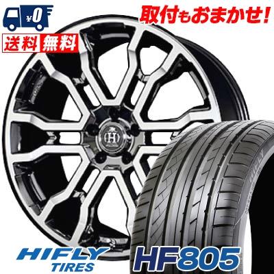 255/35R20 97W XL HIFLY ハイフライ HF805 HF805 RAYS FULL CROSS CROSS SLEEKERS T6 レイズ フルクロス クロススリーカーズ T6 サマータイヤホイール4本セット