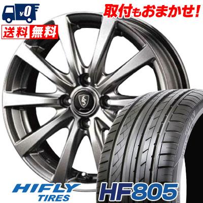 195/45R15 82V XL HIFLY ハイフライ HF805 HF805 Euro Speed G10 ユーロスピード G10 サマータイヤホイール4本セット