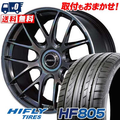 235/40R19 HIFLY ハイフライ HF805 HF805 RAYS VOLKRACING G27 レイズ ボルクレーシング G27 サマータイヤホイール4本セット