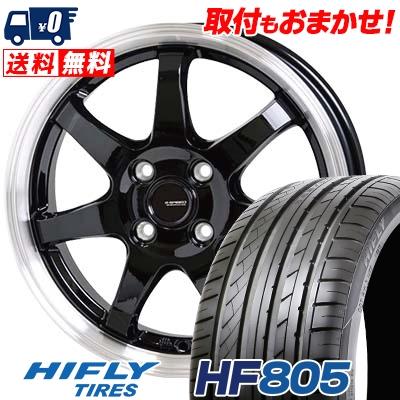 205/55R15 88V HIFLY ハイフライ HF805 エイチエフ ハチマルゴ G.speed P-03 ジースピード P-03 サマータイヤホイール4本セット