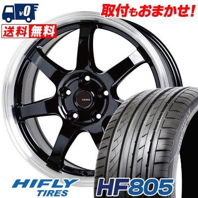 215/45R18 93W XL HIFLY ハイフライ HF805 エイチエフ ハチマルゴ G.speed P-03 ジースピード P-03 サマータイヤホイール4本セット