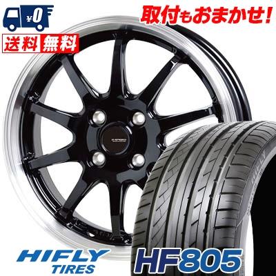 205/40R17 84W HIFLY ハイフライ HF805 エイチエフ ハチマルゴ G.speed P-04 ジースピード P-04 サマータイヤホイール4本セット