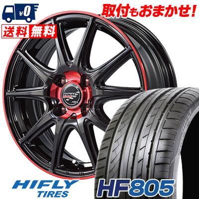 195/45R16 84V XL HIFLY ハイフライ HF805 エイチエフ ハチマルゴ FINALSPEED GR-Volt ファイナルスピード GRボルト サマータイヤホイール4本セット