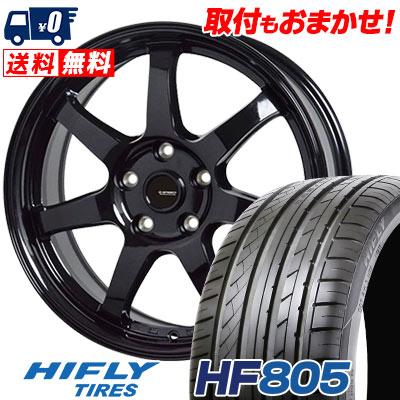 215/35R18 84W XL HIFLY ハイフライ HF805 エイチエフ ハチマルゴ G.speed G-03 Gスピード G-03 サマータイヤホイール4本セット