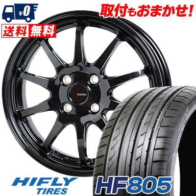 195/55R16 91V XL HIFLY ハイフライ HF805 エイチエフ ハチマルゴ G.speed G-04 Gスピード G-04 サマータイヤホイール4本セット